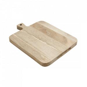 Tocator dreptunghiular maro din lemn 46x60 cm Hellen Nordal
