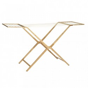 Uscator maro din lemn de bambus 188 cm Nature Hubsch