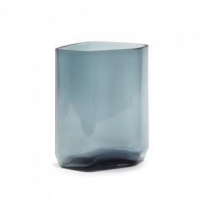 Vaza albastra din sticla 27 cm Silex Serax