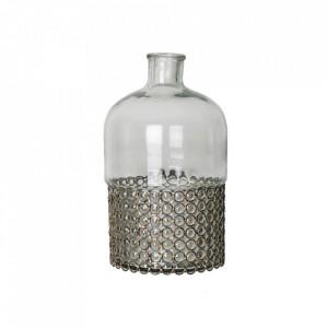 Vaza decorativa transparenta din sticla 25 cm Olivia Vical Home