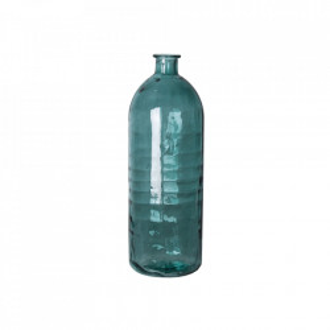 Vaza decorativa turcoaz din sticla 40 cm Alana Vical Home
