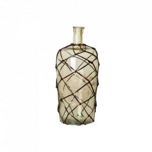 Vaza decorativa verde din sticla 50 cm Luis Vical Home