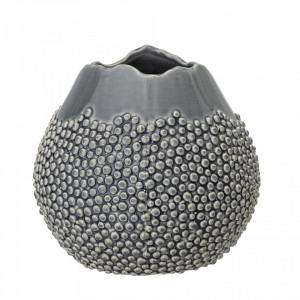 Vaza gri din ceramica 17,5x17 cm Bloomingville
