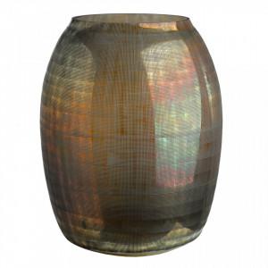Vaza maro din sticla 37 cm Checkered Pols Potten