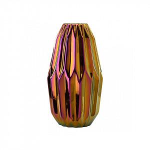 Vaza multicolora din ceramica 33 cm Oily Folds M Pols Potten