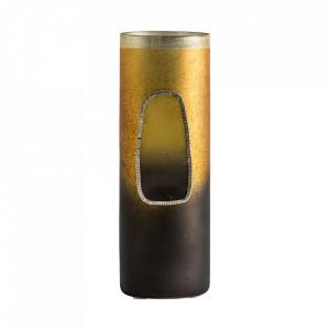Vaza multicolora din sticla si fier 25 cm Candy Vical Home