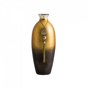 Vaza multicolora din sticla si fier 32 cm Candy Vical Home