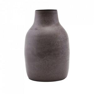 Vaza rosie/mov din alama 14 cm Etnik Slim House Doctor
