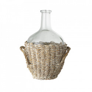 Vaza transparenta din sticla 27 cm Rhea Bloomingville