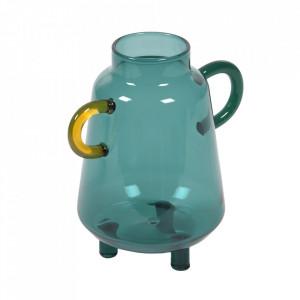 Vaza turcoaz din sticla 15 cm Iarena Kave Home