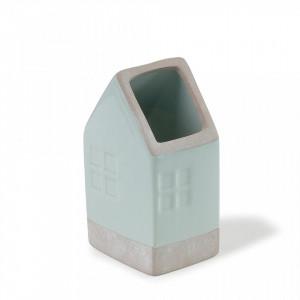 Vaza verde din ceramica 16 cm Arla La Forma