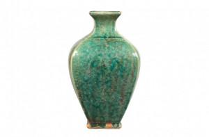 Vaza verde din ceramica Aya Versmissen