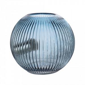 Veioza de albastra din sticla 20x18 cm Bloomingville