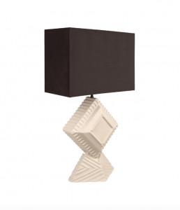 Veioza ivorie din ceramica 73,5 cm Unity Lamp Versmissen
