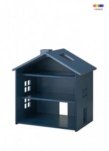 Decoratiune albastru petrol din MDF pentru copii House Nofred