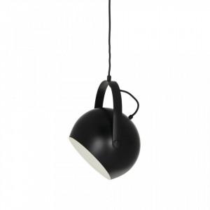 Lustra neagra din metal Black Pendant Frandsen Lighting