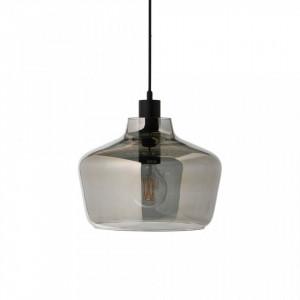 Lustra gri din sticla Kyoto Electro Frandsen Lighting