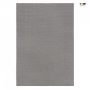 Covor gri din viscoza si poliester Premier Alagnon Grey Elle Decor (diverse dimensiuni)