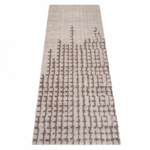 Covor gri din poliamide 67x180 cm Viva Contrast Elle Decor