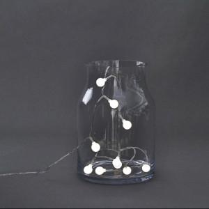 Ghirlanda luminoasa cu 15 becuri LED Globe House Doctor