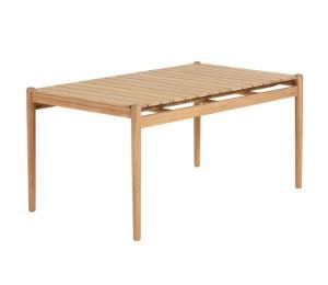 Masa dining maro din lemn de eucalipt 94x160 cm Simja La Forma