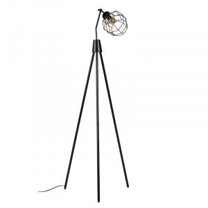 Lampadar negru din metal 160 cm Serpis Black Somcasa