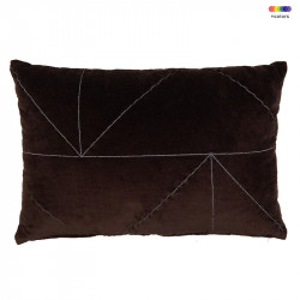 Perna decorativa dreptunghiulara din bumbac 40x60 cm Malina French Roast LifeStyle Home Collection