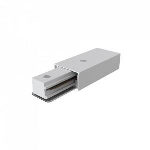 Conector electric alb din plastic pentru sina Track Accessory White Mini Maytoni