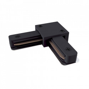 Conector electric negru din plastic cu 2 iesiri pentru sina Track Accesory Black Two Maytoni