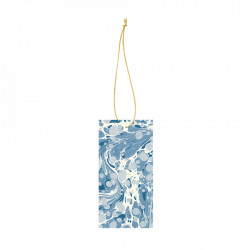 Set 6 etichete din carton Marbling Dusty Blue Ferm Living