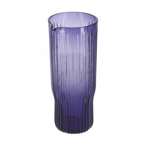 Carafa mov din sticla 9,5x22,5 cm Rori La Forma