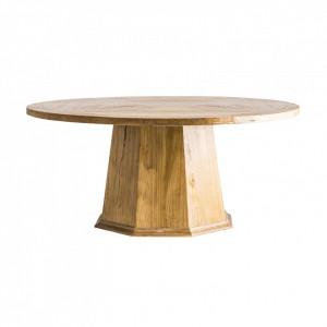 Masa dining maro din lemn de ulm 180 cm Orebo Vical Home