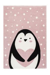 Covor multicolor din polipropilena 120x170 cm Amigo Penguin Lalee