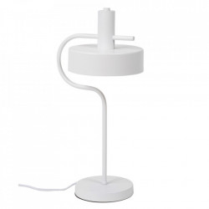 Lampa birou alba din metal 50 cm Sax Somcasa
