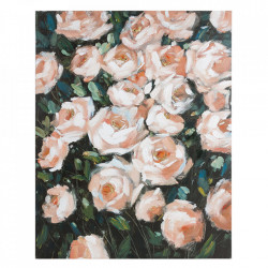 Tablou multicolor din lemn de pin 80x100 cm Roses Santiago Pons