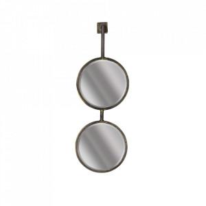 Oglinda din metal 20x58 cm Chain Be Pure Home