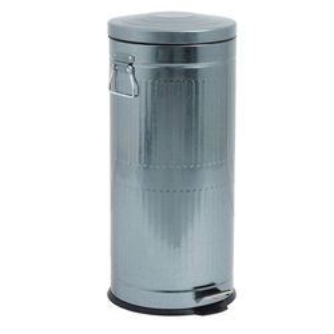 Cos de gunoi din metal argintiu 30 L Antrachite Nordal
