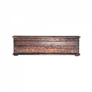 Cutie cu capac maro din lemn Nguyen Vical Home