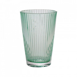 Pahar verde din sticla 7,6x11 cm Flos Bolia
