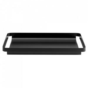 Tava dreptunghiulara neagra din metal 32x50 cm Unio Bolia