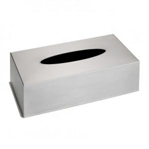 Cutie argintie din inox pentru servetele Facial Tissues Wenko
