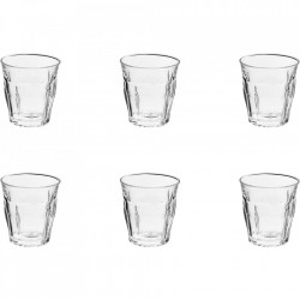 Set 6 pahare transparente din sticla 250 ml Picardie Duralex