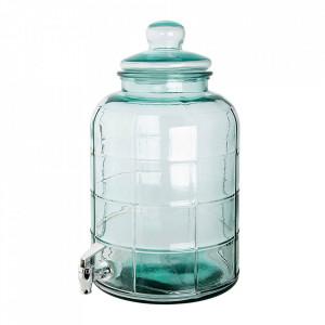 Dozator transparent din sticla pentru bauturi 12,5 L Recycled