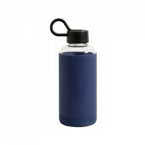 Sticla sport albastru inchis din silicon 475 ml Gery Nordal