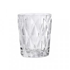 Pahar transparent din sticla 250 ml Diamond Nordal