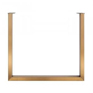 Picior auriu periat din inox pentru masa U-Leg Richmond Interiors