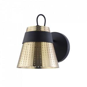 Aplica neagra/aurie din metal Trento Maytoni