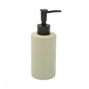 Dispenser sapun lichid bej din ceramica 6,5x17,5 cm Deny Versa Home