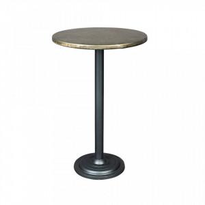 Masa bar rotunda din metal 60 cm Ewan White Label