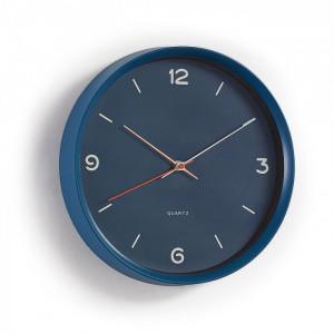 Ceas rotund albastru 30 cm Mercure La Forma